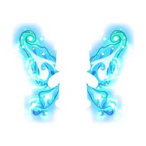 奥比岛碧波流光荧光翅超级绝版图鉴