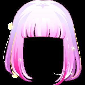 奥比岛明星粉色齐肩发超级绝版图鉴