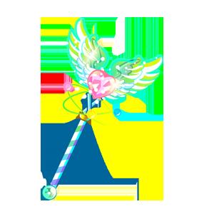 奥比岛百田梦想之翼杖超级绝版图鉴
